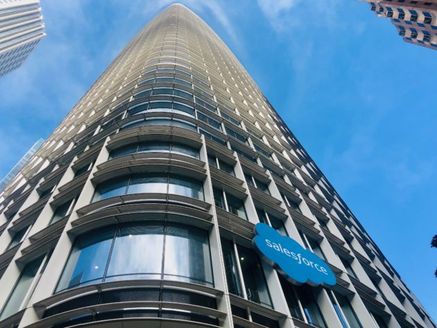 Salesforce Tower in San Francisco, California